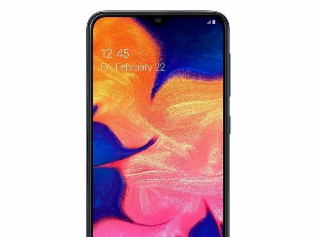 Celular Libre Samsung A10S Negro.